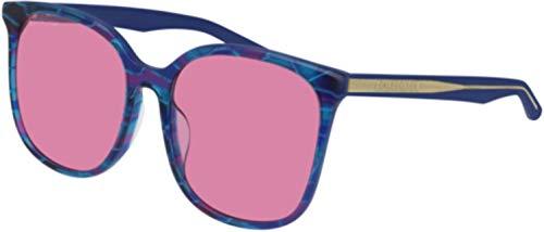Balenciaga Sunglasses Multicolor Light Blue Pink Lens