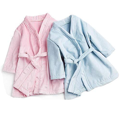 Baby Robes Flannel Silk Child Boys Girls Bath Robes Long Sleeve