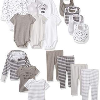 Hanes Ultimate Baby Flexy-17 Piece Warm Weather Essentials Set