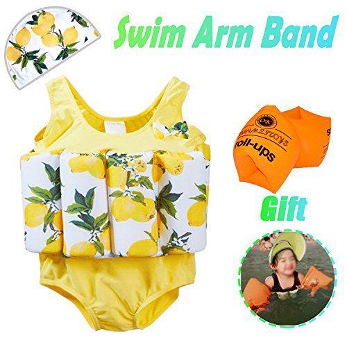 AMENON 2019 Baby Swim Pool Float Vest Swimsuits