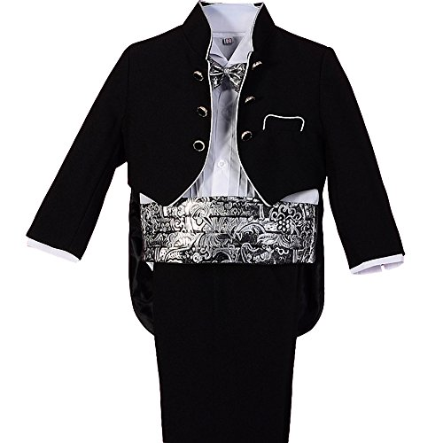 Dressy Daisy Baby Boys' Tuxedo Classic Fit Formal Suits