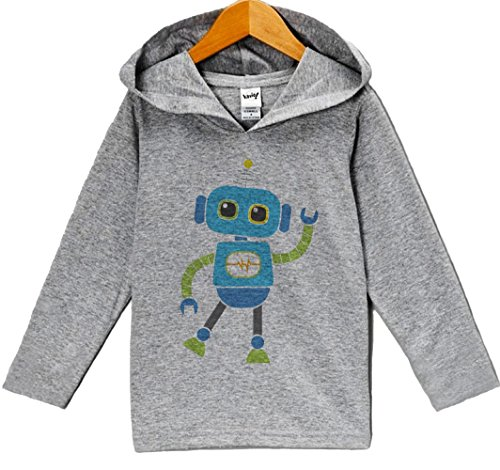 Custom Party Shop Baby Boy's Novelty Robot Hoodie Pullover