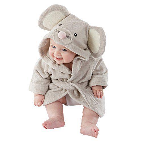 Yisumei Baby Bathrobes Mouse Cute Pajama Nightwear