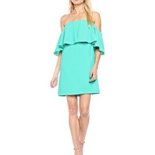 Trina Turk Women's Mirador Off The Shoulder Dress