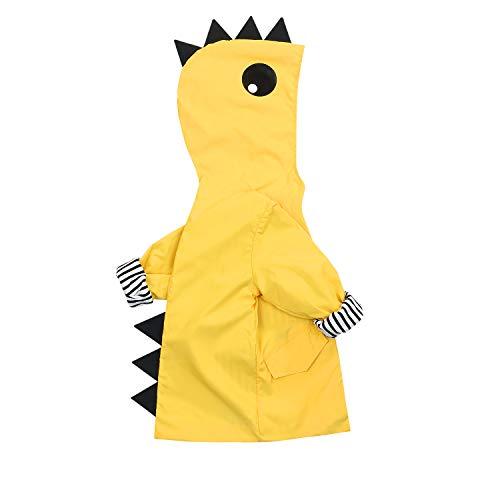 Toddler Baby Boy Girl Duck Raincoat Cute Cartoon Hoodie Zipper