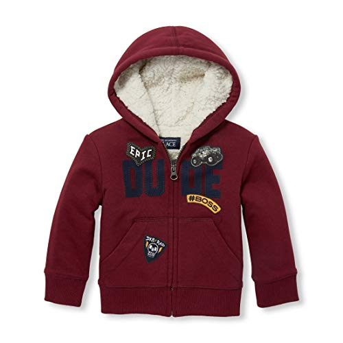 The Children's Place Baby Boys' Sherpa Hoodies