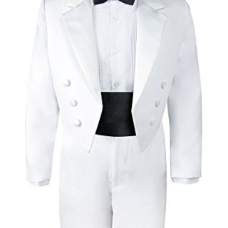 Spring Notion Boys' White Classic Tuxedo