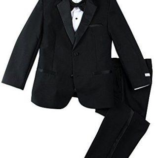 Spring Notion Little Boys' Modern Fit Tuxedo Set