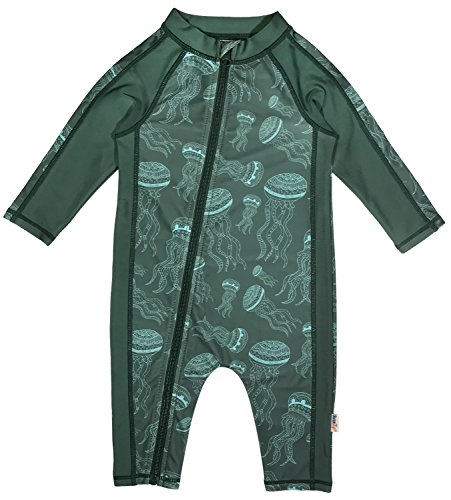 SwimZip Little Boy Long Sleeve Sunsuit