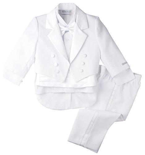 Spring Notion Baby Boys' White Classic Tuxedo