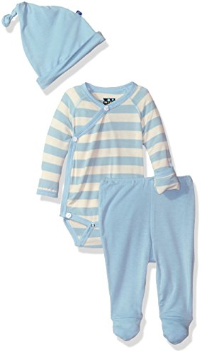 KicKee Pants Boys' Essentials Kimono Gift Set with Box
