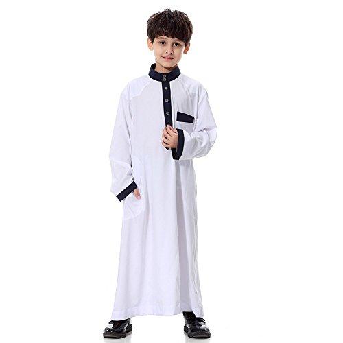 elegantstunning Muslim Traditional Stylish Loose Robe for Boys
