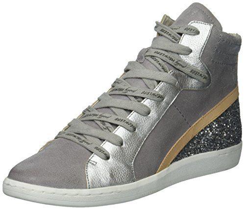 Dolce Vita Women's Natty Sneaker, Grey Suede