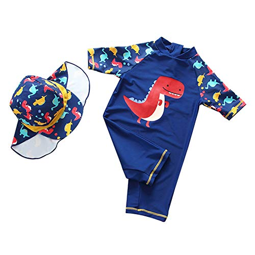 Happy Cherry Toddler Baby Boys One Piece Rash Guard Swimsuit