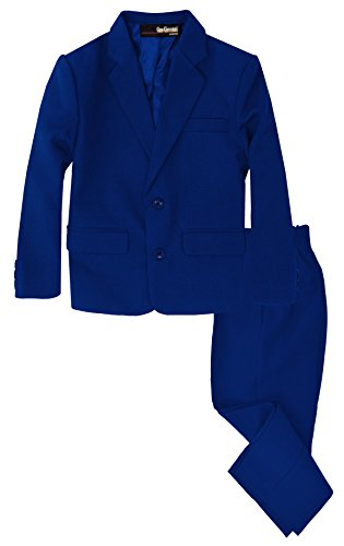 G218 Boys 2 Piece Suit Set Toddler to Teen