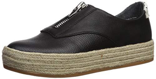 Dolce Vita Women's TRAE Sneaker, Black Leather