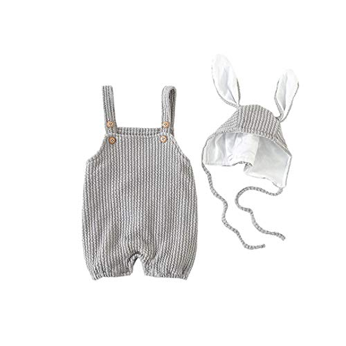 AIKSSOO 2PCs Baby Girls Boys Easter Outfit Set