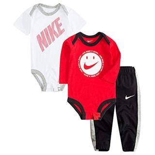 Nike Jordan Baby Boys' 3 Piece 2 Bodysuits and 1 Pants