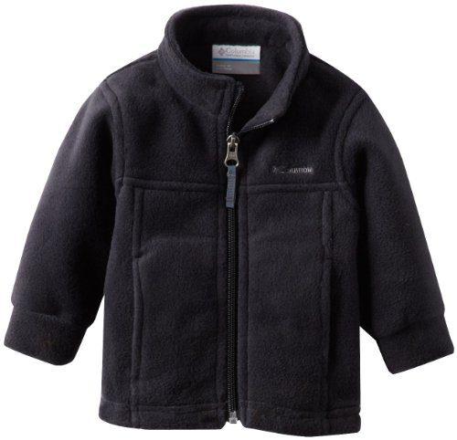 Columbia Baby Boys' Steens Mt II Fleece, Black, 6-12 Months