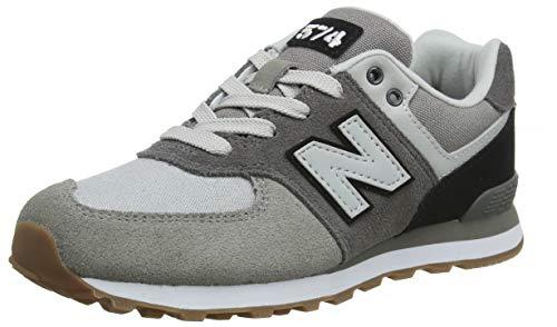New Balance Boys' Iconic Sneaker Castle Rock/Black