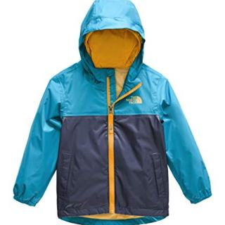 The North Face Toddler Zipline Rain Jacket, Caribbean Sea, 2T