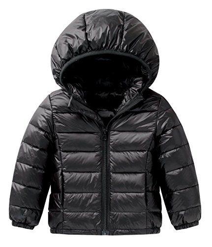 Happy Cherry Baby Boys Girls Down Coat Puffer Hoodie Jacket