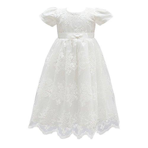 Glamulice Baby Girl Flower Christening Baptism Dress