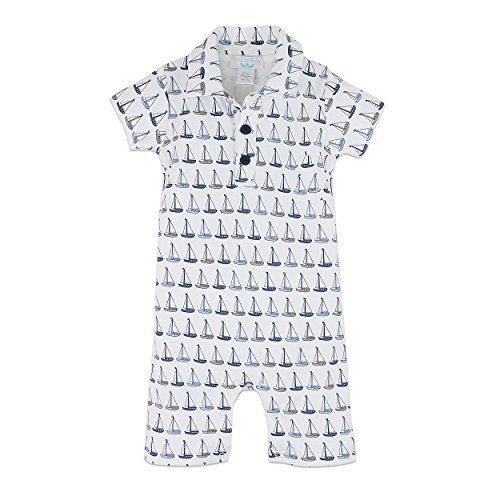 Feather Baby Boys Clothes Pima Cotton Collared Short Sleeve Polo
