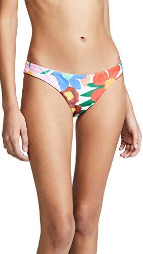 Mara Hoffman Women's Kay Bikini Bottoms, White Multi, Small