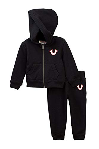 True Religion Buddha Hoodie & Sweatpants Set Baby and Toddler Boy's