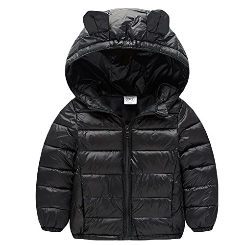 Baby Boys Girls Winter Puffer Down Jacket Kids Ear Warm Coat