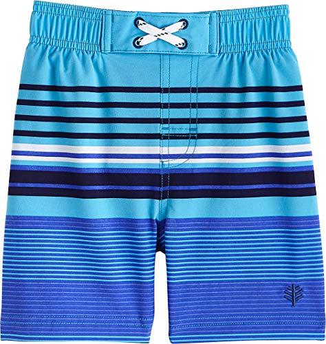46707f0ada Coolibar UPF 50+ Baby Boys' Island Swim Trunks Clout Wear Fashion ...