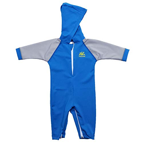 Nozone Kailua Sun Protective Hooded Baby Swimsuit