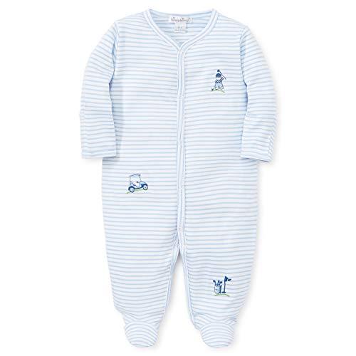 Kissy Kissy Baby Boys First Tee - Striped Footie-Newborn
