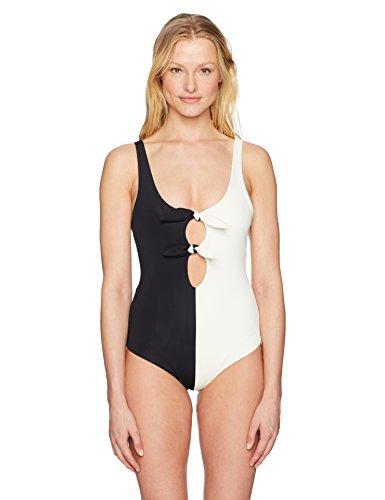 Mara Hoffman Women's Maven Double Tie Front One Piece Swimsuit