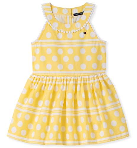 Tommy Hilfiger Baby Girls Dress, Lemon Drop Print 12M