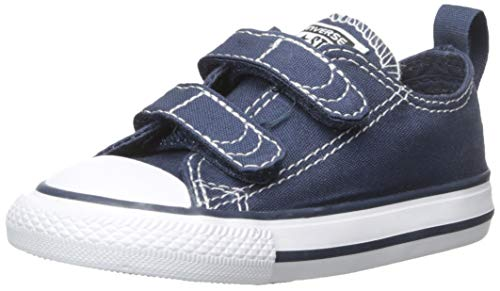 Converse Boys' Chuck Taylor All Star 2V Low Top Sneaker Navy/White