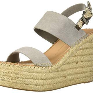 Dolce Vita Women's Spiro Wedge Sandal Smoke Suede
