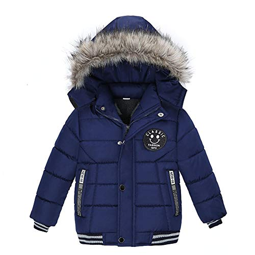 Goodkids Toddler Boys Down Jacket Winter Jacket Hooded