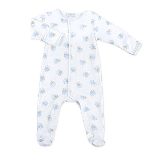 Magnolia Baby Baby Boy Noah's Friends Printed Footie Blue