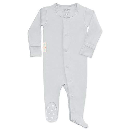 Organic Baby Onesie Footed Pajamas | Unisex Sleeper Clothes USA
