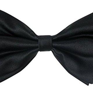 Spring Notion Boys' Classic Fit Tuxedo Bowtie Black Large