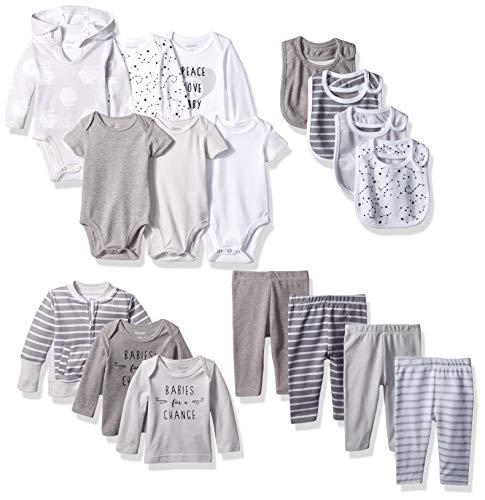 Hanes Ultimate Baby Flexy-17 Piece Cool Weather Essentials Set