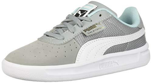 PUMA Baby California Casual Sneaker, Quarry White Team Gold