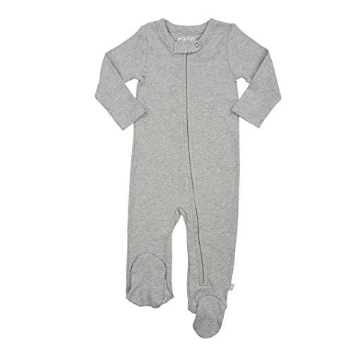 Finn + Emma Basics - Organic Cotton Footie for Baby Boy or Girl