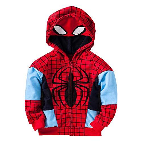 Infant Baby Boys Fashion Avengers Thin Zip Coat