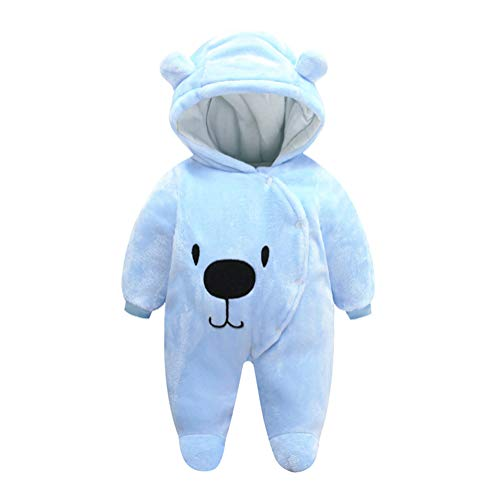FeelMeStyle Newborn Baby Boy Girl Winter Jumpsuit Outfit
