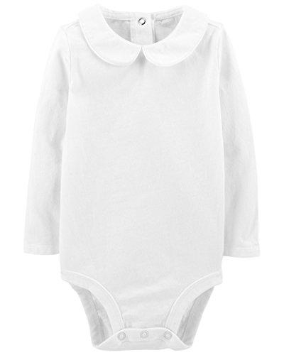 OshKosh B'Gosh Baby Girl's Bodysuits White