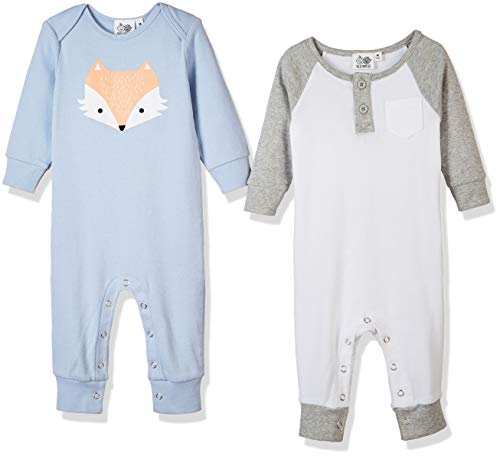 Silly Apples Pure Cotton Baby Boys Girls Long-Sleeve Romper Jumpsuit