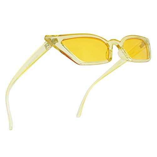 Vintage 1990's Squared Semi Cat Eye Sun Glasses